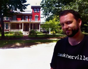 I visit Stephen King's Bangor house
